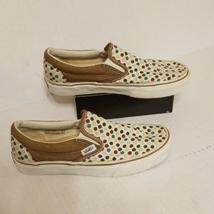 Vans off the wall women's shoes size 7